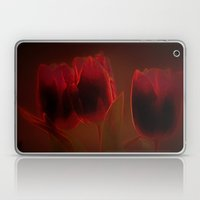Rote Tulpen Laptop & iPad Skin