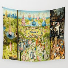 The Garden of Earthly Delights Wall Tapestry