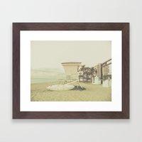 Life Saving Framed Art Print