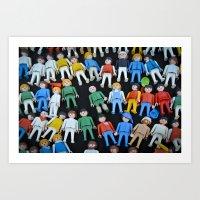 People playtime  Art Print