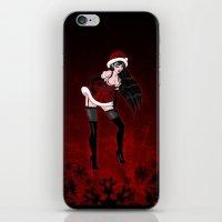 DarkSanta iPhone & iPod Skin