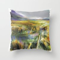 Approaching Rain - Achil… Throw Pillow