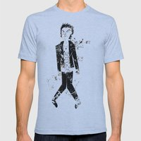 Sid Vicious Mens Fitted Tee Athletic Blue SMALL