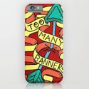 Too Many Banners! iPhone & iPod Case