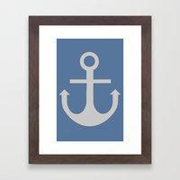 Anchor, 1 Framed Art Print