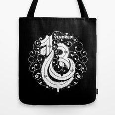 Vendredi 13 monogram Tote Bag
