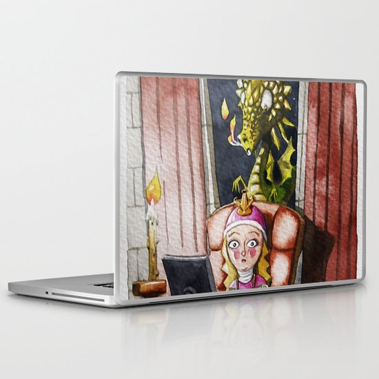 Where my Prince will be Laptop & iPad Skin