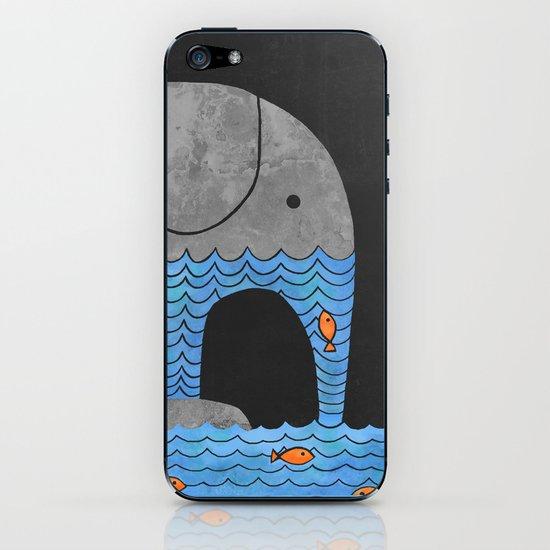 Thirsty Elephant  iPhone & iPod Skin
