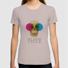 CYCLE Womens Fitted Tee Cinder SMALL