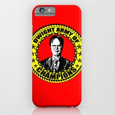 Dwight Schrute (Dwight Army Of Champions) iPhone 6s Slim Case