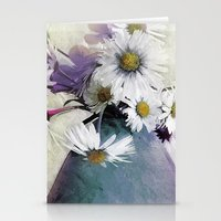 Daisies And Buttercups -… Stationery Cards