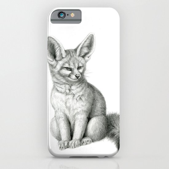 Fennec SK042 Vulpes zerda iPhone & iPod Case