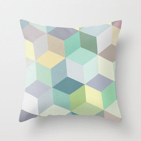 Nordic Combination 12 Throw Pillow