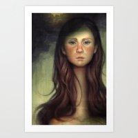 The Patchwork Spouse Art Print