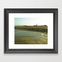 Navaro Beach VII Framed Art Print
