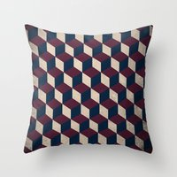 Pop Cube Throw Pillow