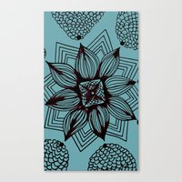 Canvas Print featuring Flowering by Isa Gutierrez