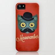 Meowember iPhone (5, 5s) Slim Case