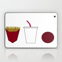 Aqua teen hunger force minimalist  Laptop & iPad Skin
