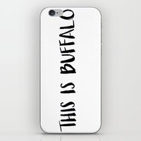 This is Buffalo iPhone & iPod Skin