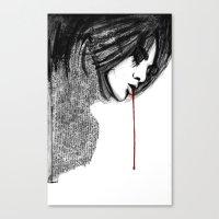 Bl33d4m3 Canvas Print
