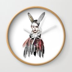 Bunny Boy Wall Clock