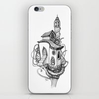 Castle in the sky iPhone & iPod Skin
