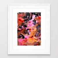 Bats In Flight Framed Art Print
