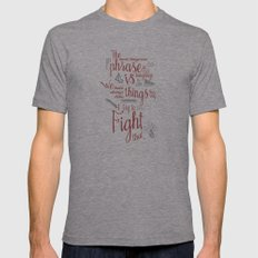 Grace Hopper Sentence - … Mens Fitted Tee Athletic Grey SMALL