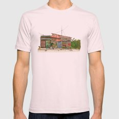 Tokyo Street 7 Mens Fitted Tee Light Pink SMALL