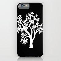 Solo Tree White On Black iPhone 6 Slim Case