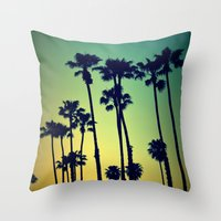 Ocean Blvd Cruisin Throw Pillow