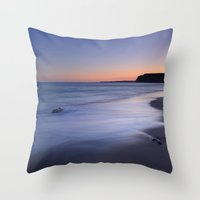Serenity At The Beach Throw Pillow