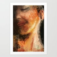 night pose Art Print