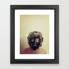 Future H Framed Art Print