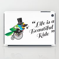 Life is a Beautiful Ride iPad Case