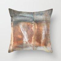 Wood Texture #2 Throw Pillow