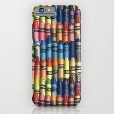 neverending box of crayons iPhone 6 Slim Case