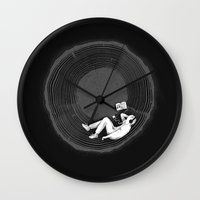 Feel calm and peaceful Wall Clock