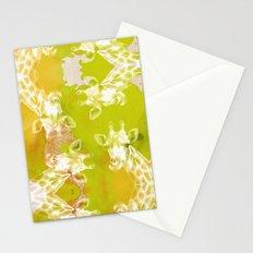 Rainbow Giraffe Stationery Cards