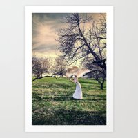 Lost In Day Dreams Art Print