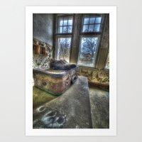 Lost traveller  Art Print