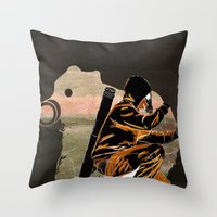 My Dexterous Shadow Throw Pillow
