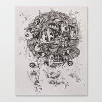 Free Flight Canvas Print