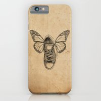 iPhone & iPod Case featuring Flying sneakers by VitaliGisko