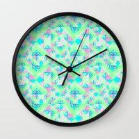 Geo Texture Wall Clock