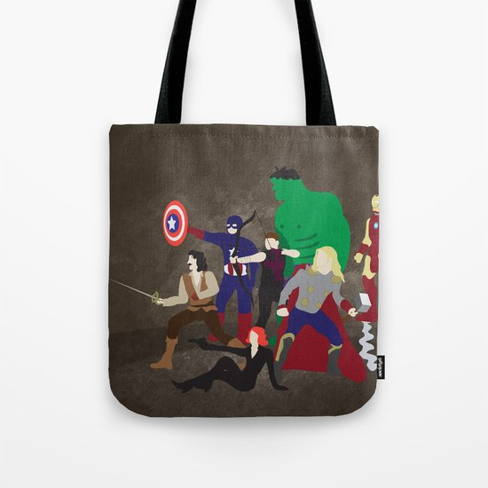 Prepare to Be Avenged Tote Bag