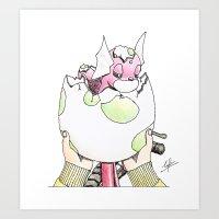 Hatched! Art Print