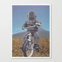 Rascal Mountain God Canvas Print