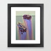 Rainbow Corrosion  Framed Art Print